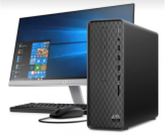 "HP Slimline Tower TP01-0118in (9th Gen Core i7-9700F, 8GB RAM, 256 SSD + 2TB HDD, WLAN, BT, M.2 Slot, 2GB Nvidia GT730 Graphics, 22Y 21.5"" IPS Monitor, HDMI Out, DVDRW, Win 10, Office H & S 2019, 3 YRS Warranty)"