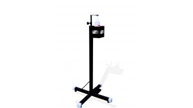 JR Hand Sanitizer Dispenser Stand Touch Free Foot Operated