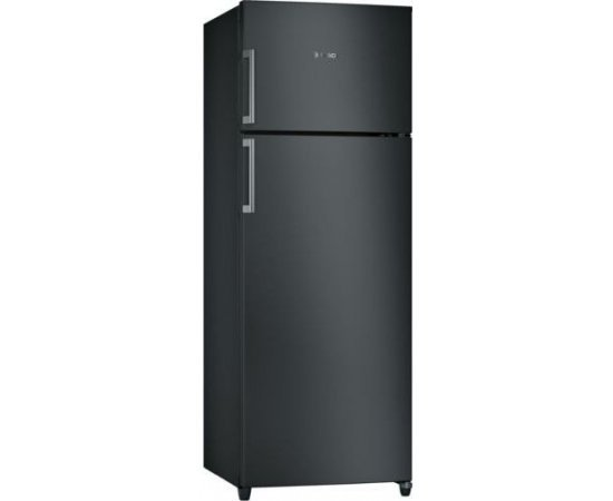 Bosch 3 Star Frost-Free Double Door Refrigerator, 288 L (KDN30VB30I, Black Metalic)