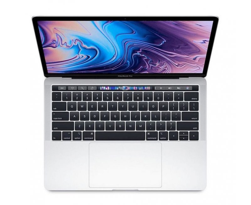 Apple MacBook Pro (13-inch Retina, Touch Bar, 2.4GHz Quad-Core 8th Gen Intel Core i5, 8GB RAM, 256GB SSD) - Silver