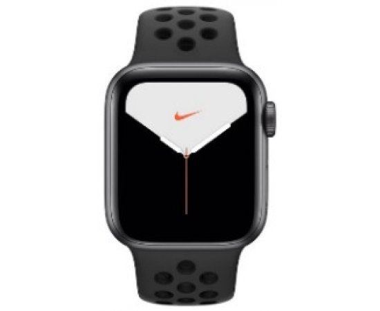 Apple Watch Nike Series 5 GPS + Cellular, 40mm Space Gray Aluminium Case with Anthracite/Black Nike Sport Band