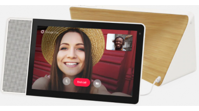 """Lenovo SD-X-501F Smart Display 10 with the Google Assistant (Qualcomm Octa Core 1.8GHz, Dual Band WIFI & MIMO, 10W Full Range Speaker-1, Passive Tweeters - 2, 2GB RAM, 4GB Storage, 10"""" HD (1280*800), 5MP Front Camera)"""
