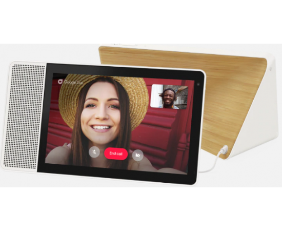 "Lenovo SD-X-501F Smart Display 10 with the Google Assistant (Qualcomm Octa Core 1.8GHz, Dual Band WIFI & MIMO, 10W Full Range Speaker-1, Passive Tweeters - 2, 2GB RAM, 4GB Storage, 10"" HD (1280*800), 5MP Front Camera)"