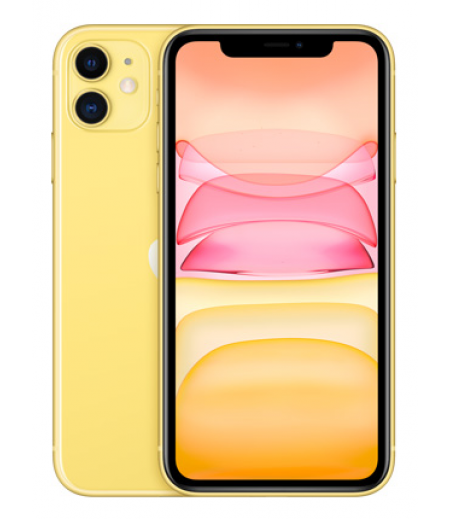 Apple iPhone 11 (Yellow, 128GB)
