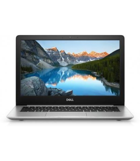 Dell Inspiron 5370 Thin and Light Laptop (8th Gen Core i7-8550U, 8GB RAM, 256GB SSD, 4GB Radeon 530 Graphics, 13.3 inch FHD Windows 10, Office H&S 2019, Backlit, Finger Print) Silver