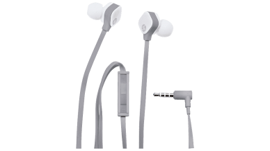 HP in-Ear H2310 Universal Headset with Mic and Volume Control (Grey)