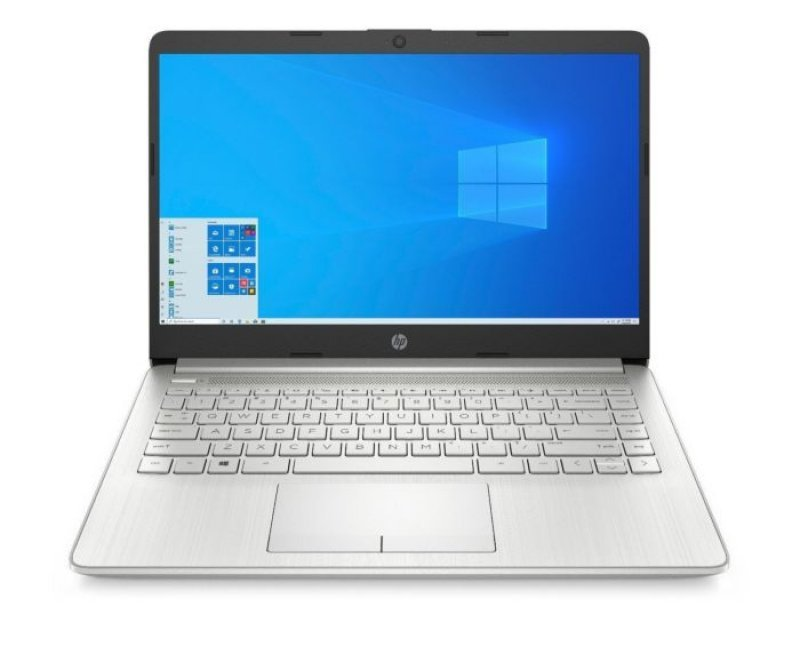 """HP 14s Notebook Think and Light Laptop (10th Gen Core i3-1005G1, 8GB RAM, 512GB SSD, 14"""" Full HD (1920 x 1080), Iris Plus Graphics, Windows 10 Home, Office H&S 2019, Backlit Keyboard, 10+ Hours Battery, 1.46Kg) Premium T&L Silver"""