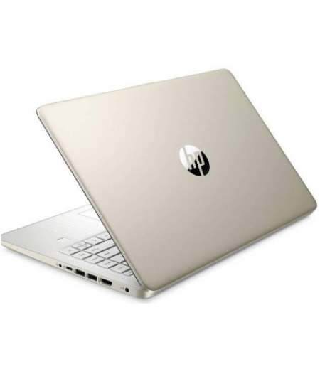 "HP 14s Notebook Thin and Light Laptop (11th Gen Core i3-1115G4, 8GB RAM, 512GB SSD, 14"" FHD, Intel UHD Graphics, Windows 10, Office H&S, Backlit Keyboard, 1.46 kg) Pale Gold + Natural silver"
