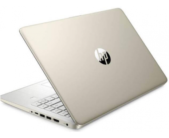 "HP 14s Notebook Thin and Light Laptop (11th Gen Core i7-1165G7, 8GB RAM, 512GB SSD, 14"" FHD, Intel UHD Graphics, Windows 10, Office H&S, Backlit Keyboard, 1.46 kg) Pale Gold + Natural silver"