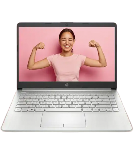 "HP 14s #AlwaysConnectedPC Laptop with #4GLTE (10th Gen Core i3 1005G1, 4GB RAM, 1TB HDD, 14"" FHD, Intel UHD Graphics, Windows 10, NSV, 1.53 kg) Natural silver"