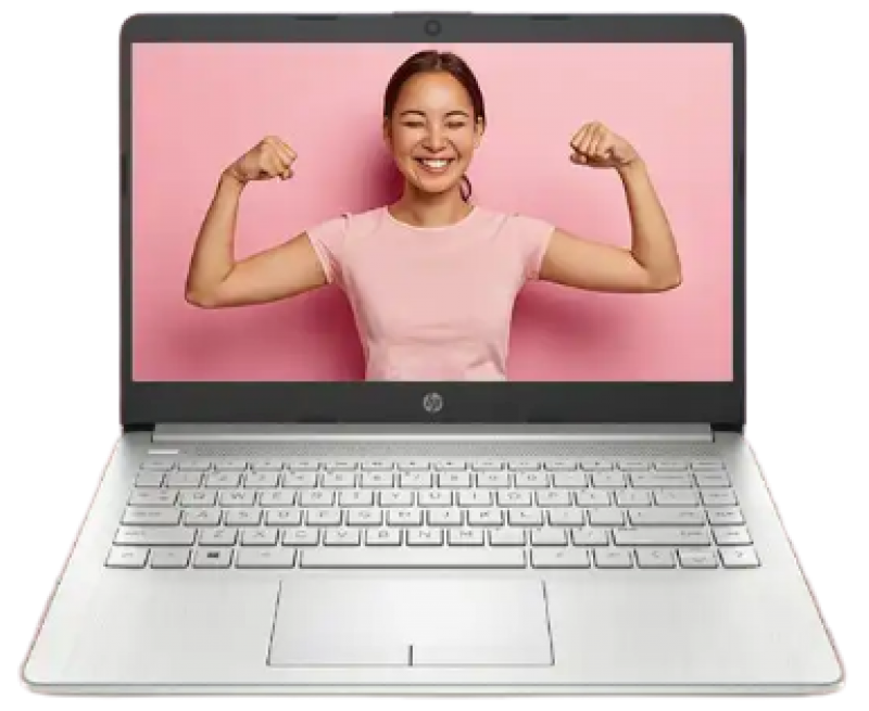 """HP 14s #AlwaysConnectedPC Laptop with #4GLTE (10th Gen Core i5 1035G4, 8GB RAM, 1TB HDD + 256GB SSD, 14"""" FHD, Intel UHD Graphics, Windows 10, NSV, 1.53 kg) Natural silver"""