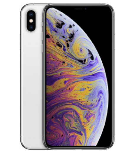 Apple iPhone XS Max (Silver, 512GB)