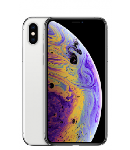 Apple iPhone XS (Silver, 64GB)