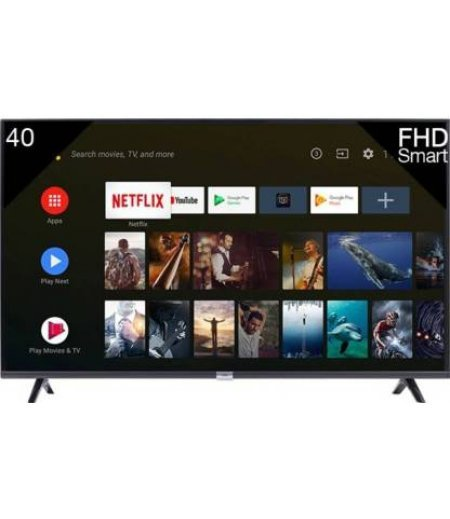 iFFALCON by TCL 40 inch Smart Android TV (2 HDMI + 1 USB, Android PIE 9.0.HDR | AI-Google Assistant | Netflix, T-cast | Bluetooth, 1.5 + 8GB)