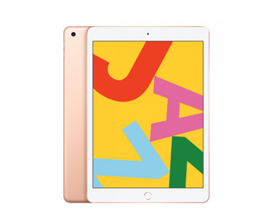 "Apple iPad (7th Gen, 10.2"", 128GB, Cellular) Gold"