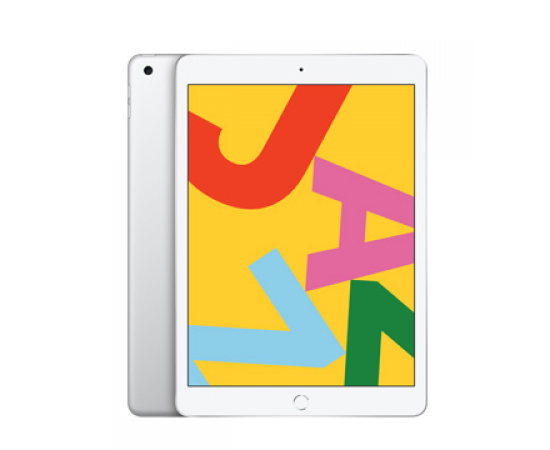 "Apple iPad (7th Gen, 10.2"", 128GB, Cellular) Silver"