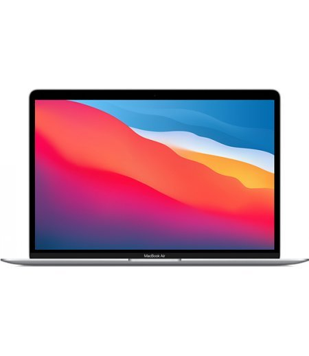 """Apple MacBook Air 2020 Laptop (Apple M1 chip with 8‑core CPU, 7‑core GPU and 16‑core Neural Engine, 8GB RAM, 256GB SSD, 13.3"""" Retina Display, Touch ID) Silver"""