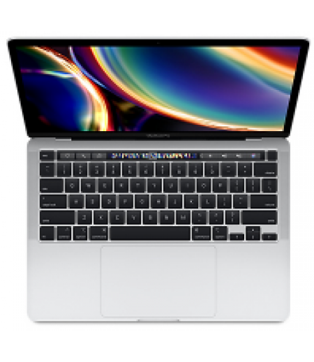 Apple MacBook Pro Laptop (13-inch, Touch Bar, 8th Gen Core i5 @ 1.4GHz quad-core, 8GB RAM, 256GB Storage) - Silver