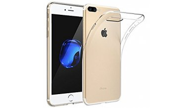 Silicon clear case for iPhone 8 Plus