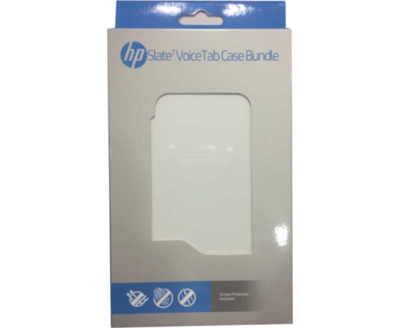 HP Slate 7 Voice Tab Case + Screen Guard Mobile Parts +