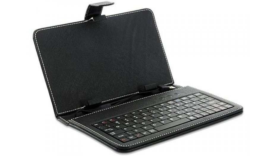 Zebronics Tablet Case with Built in Keyboard + Stylus (Free Item)